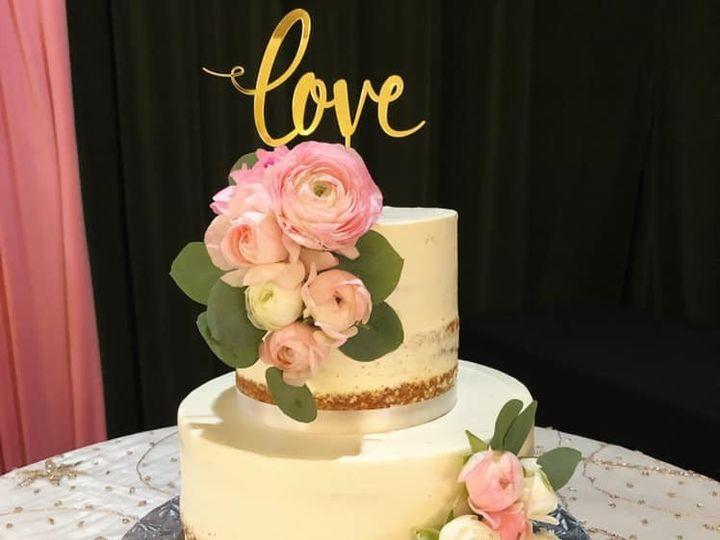 Tmx Naked 2 Tiered Cake 51 165384 1567441027 North Bergen, NJ wedding cake