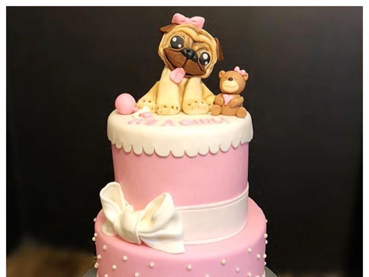 Tmx Pug Cake 51 165384 1567440932 North Bergen, NJ wedding cake