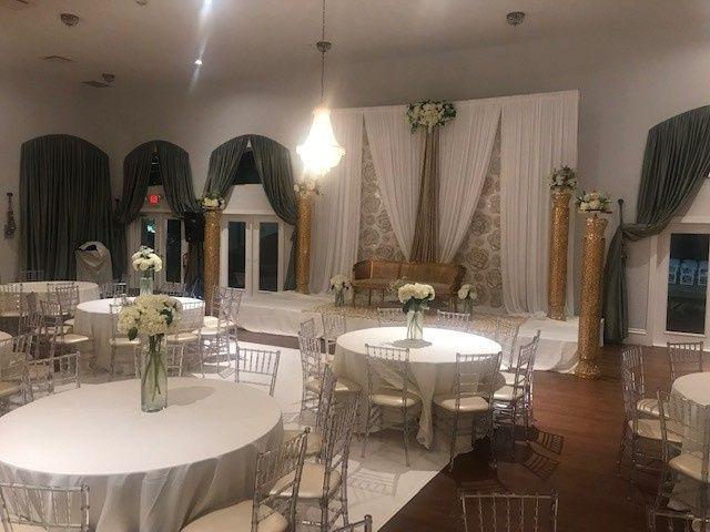 Tmx Melrose White Stage White Decor 51 665384 157393486987225 Carrollton, Texas wedding venue