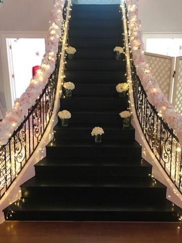 Tmx Staircase With Flowers 51 665384 157393487091250 Carrollton, Texas wedding venue
