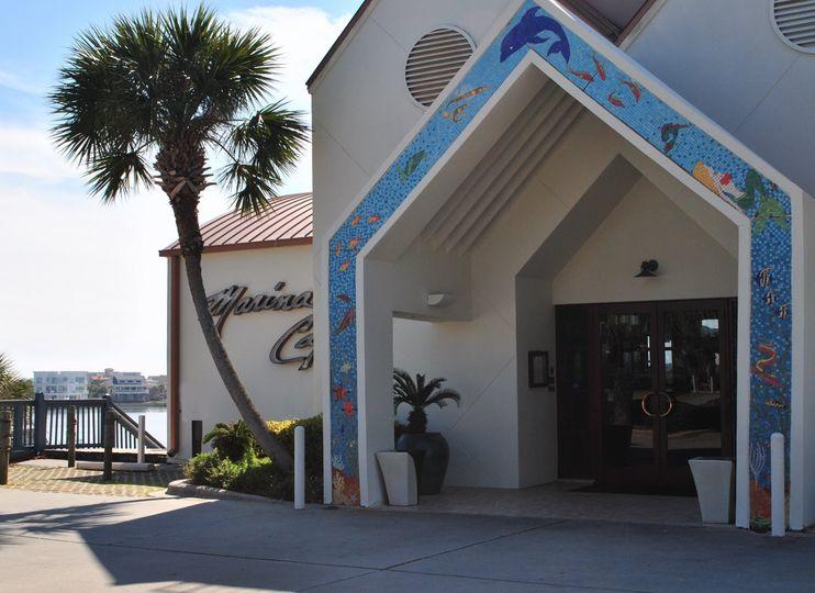 Marina Cafe on the harbor