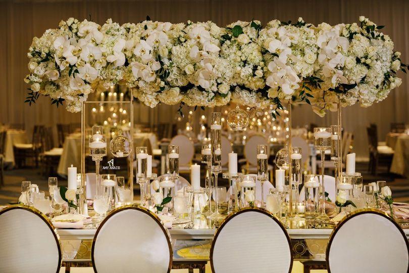 British Ballroom Table Set