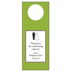 Personalized wine tags make great favor ideas or table markers