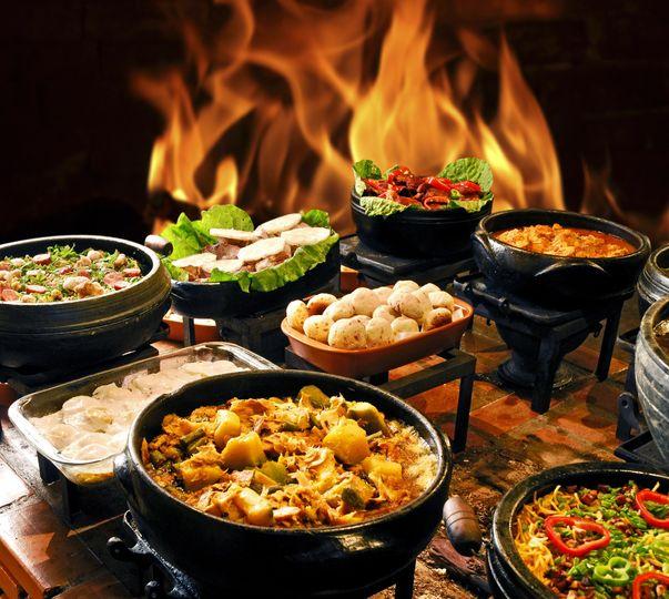Fiery meals
