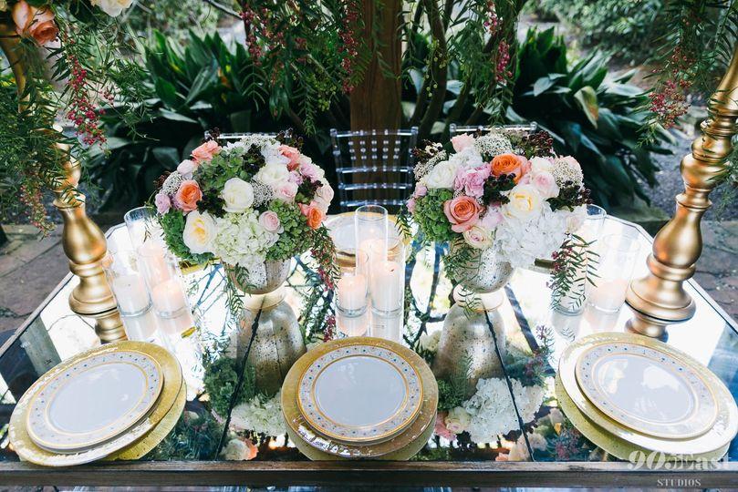 Fancy Table Display