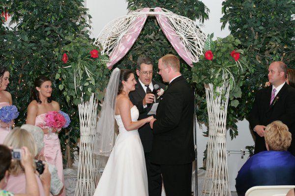 Ceremony on main level