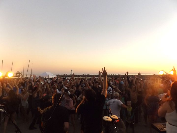 Santa Cruz Beach Party (The Crow's Nest)