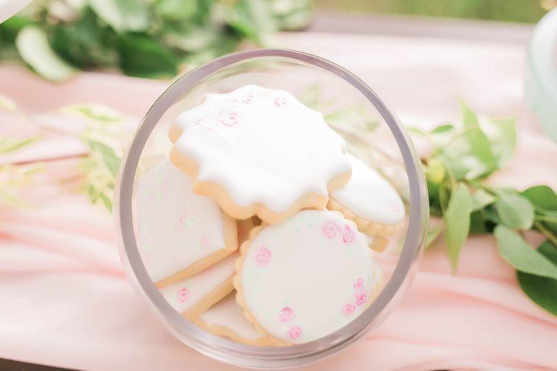 Hand-painted cookies