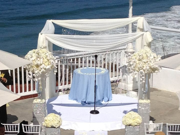 Tmx Pic Custom Altar With Bling 51 42484 Laguna Beach, CA wedding venue