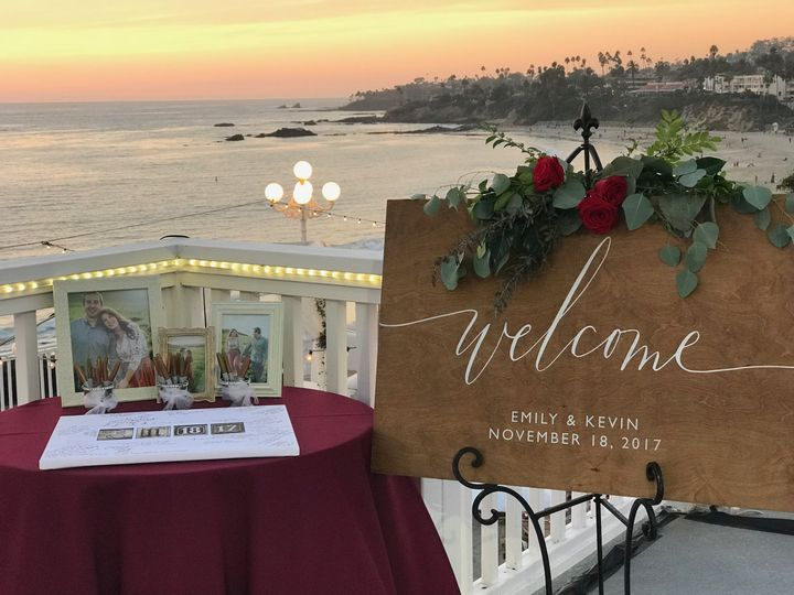 Tmx Pic Guestbook Table 51 42484 Laguna Beach, CA wedding venue