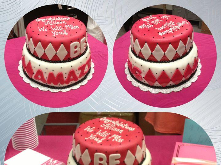 Tmx 1389212474372 Beamazin Stamford wedding cake