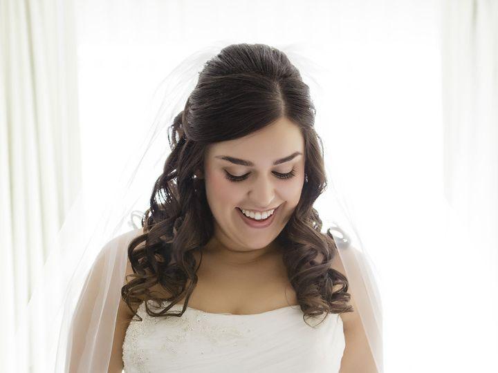 Tmx 1421334889533 Bellaangelbridehairmakeuphalfuphalfdownpennsylvani Cherry Hill wedding beauty