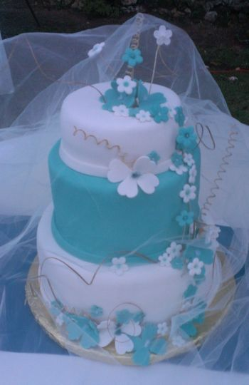 wedding cakes teal and white i d rather fall in chocolate wedding cake montego bay 25696