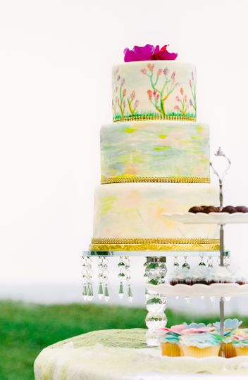I\'d Rather Fall in Chocolate - Wedding Cake - Montego Bay, Ochos ...