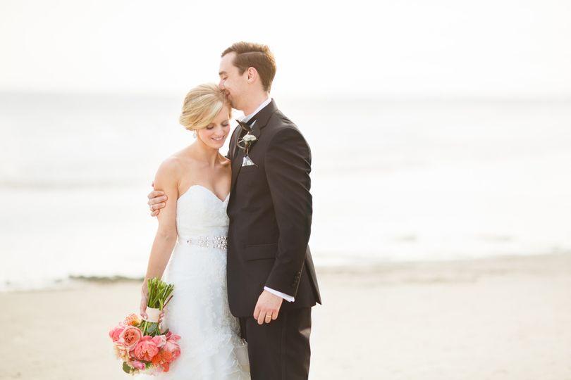 Couple by the sea - photo by Emily Baucom