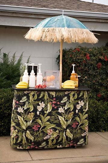 Smoothie Bar Cart