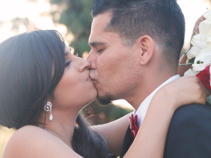 Tmx 1428113823717 Maybriankissing Palm Desert wedding videography