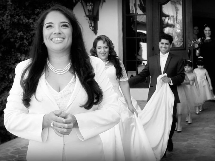 Tmx 1429507033753 Charleykarinafirstlookbw Palm Desert wedding videography