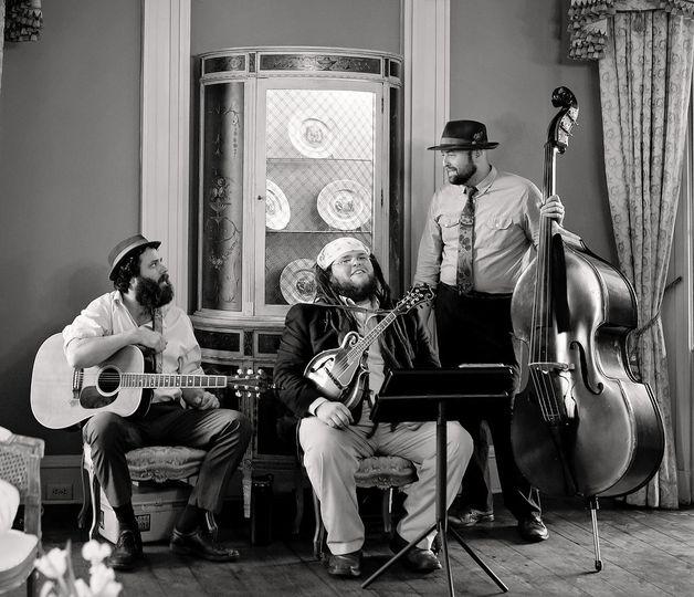 charleston bluegrass band wedding