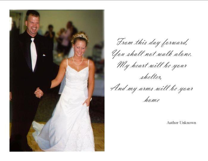 postcard of weddings