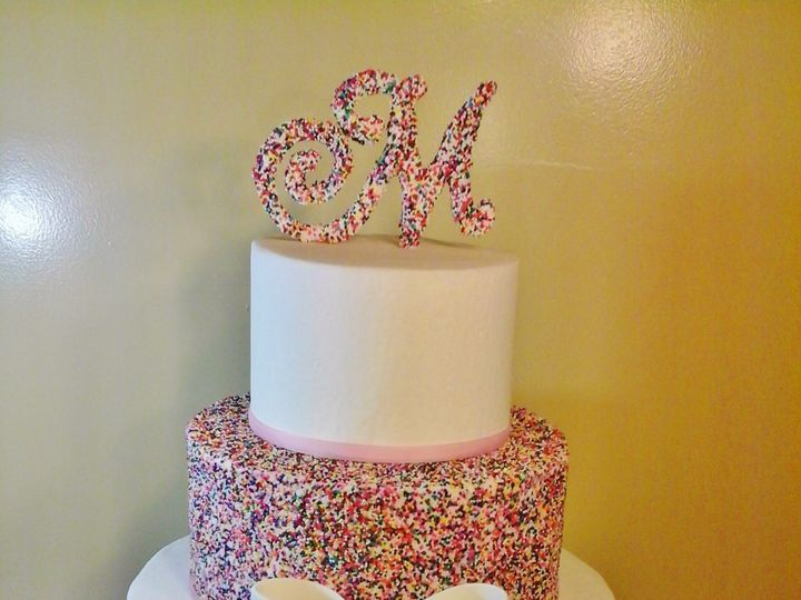 Tmx 1456844028571 Little Murray Sprinkles Waterville, ME wedding cake