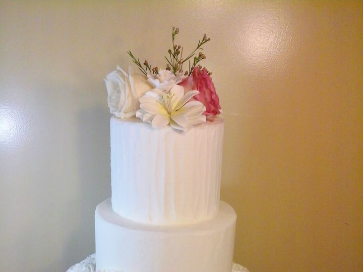 Tmx 1456844039485 Rosettes Waterville, ME wedding cake