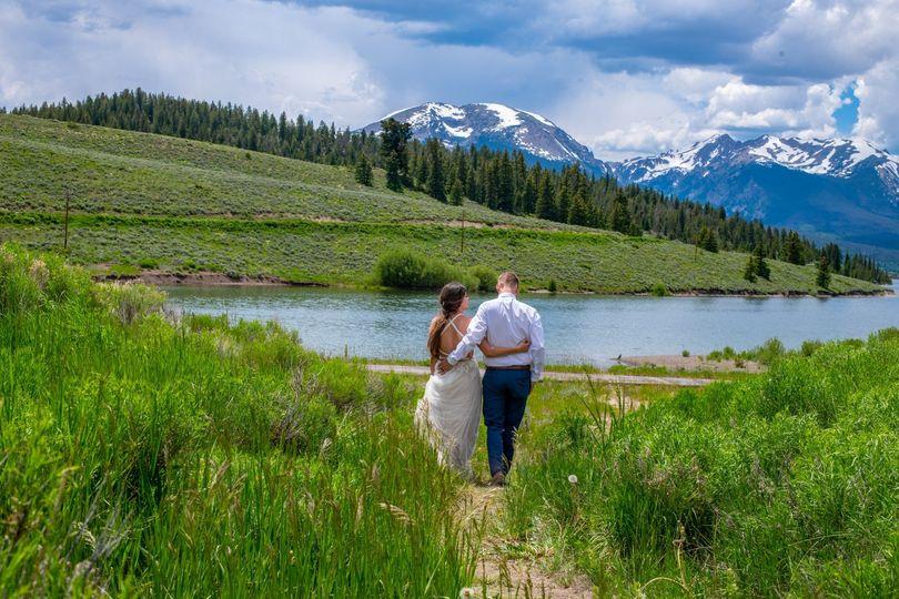 Mountain wedding!