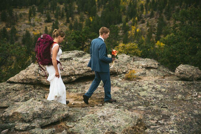 Colorado adventure wedding!