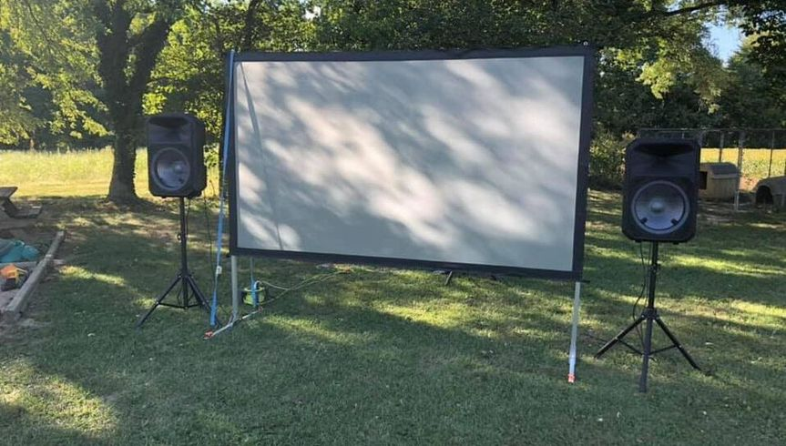 120 Inch Video Projection Scre