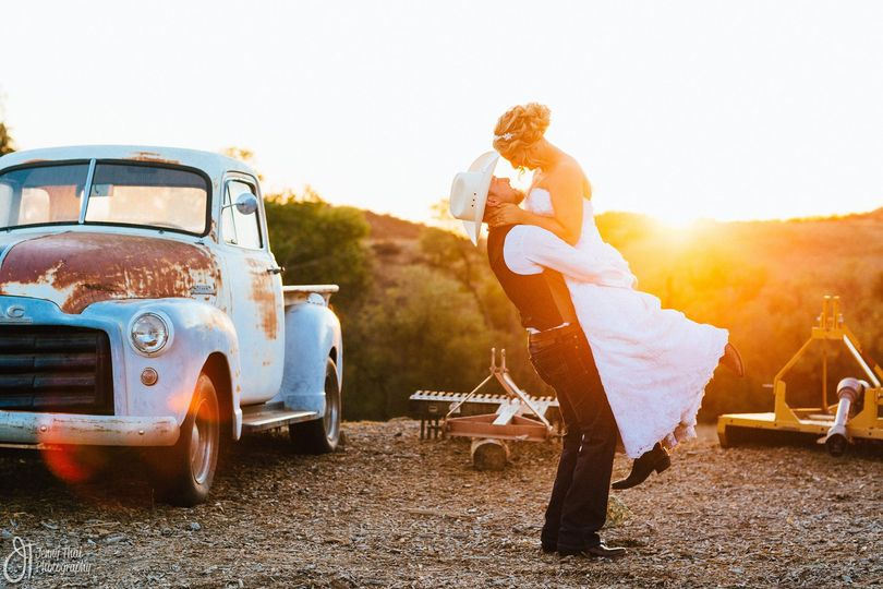 Just Married -  Farm Wedding