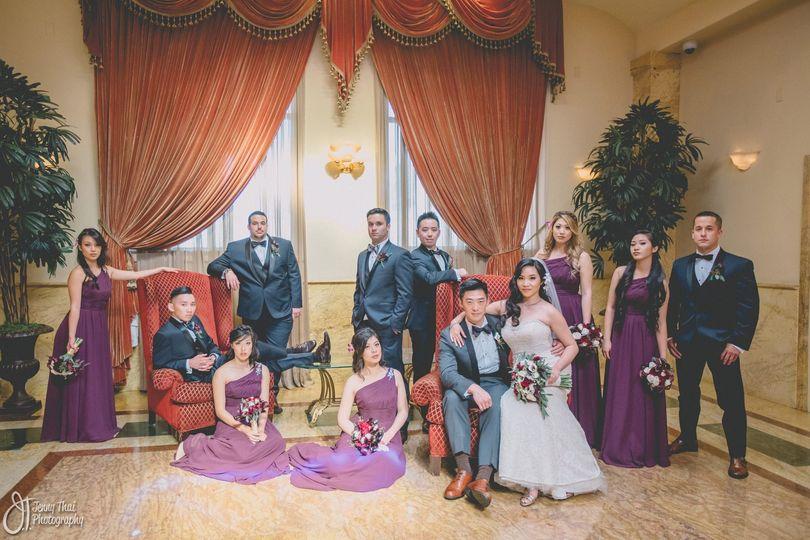 Wedding Party looking gooooood