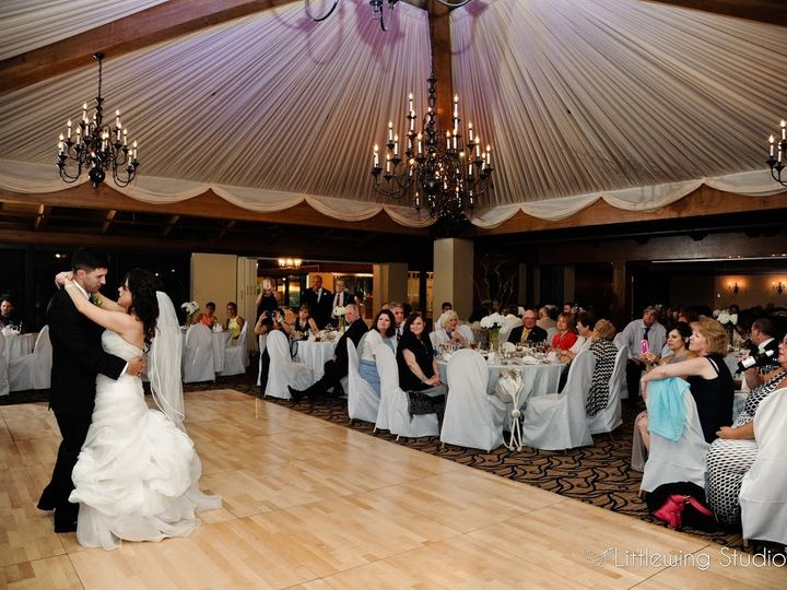 Tmx 1464636594814 Ballroom And Dancefloor With Bride And Groom Blue Bell wedding venue