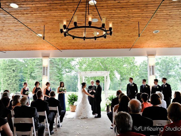 Tmx 1464636628952 Ceremony Setup Terrace2 Blue Bell wedding venue