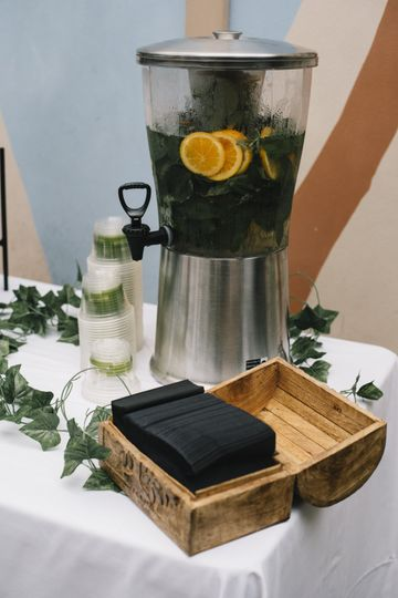 Infused Water Station