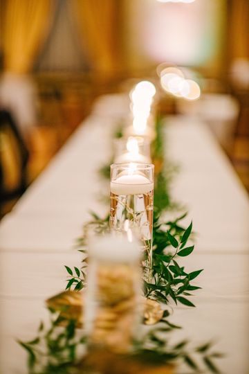 Table decor - Top Shelf Media Company