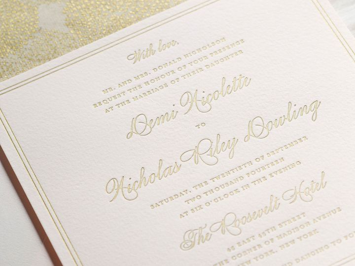 Tmx 1415899055378 Demi1 New Hyde Park wedding invitation