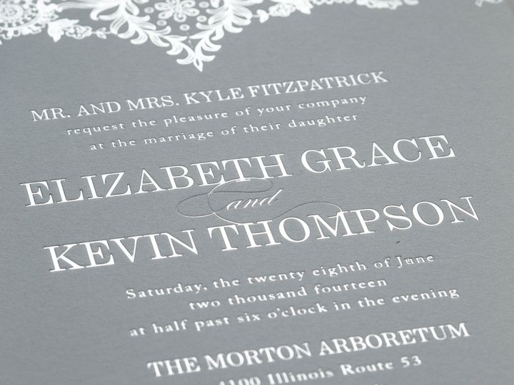 Tmx 1415899078419 Elizabeth1 New Hyde Park wedding invitation