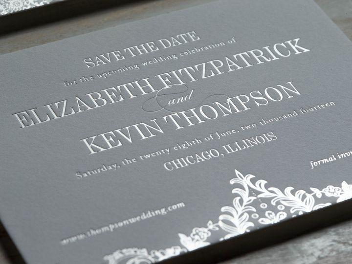 Tmx 1415899099137 Elizabeth3 New Hyde Park wedding invitation
