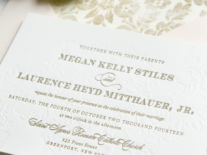 Tmx 1415899381750 Megan1 New Hyde Park wedding invitation