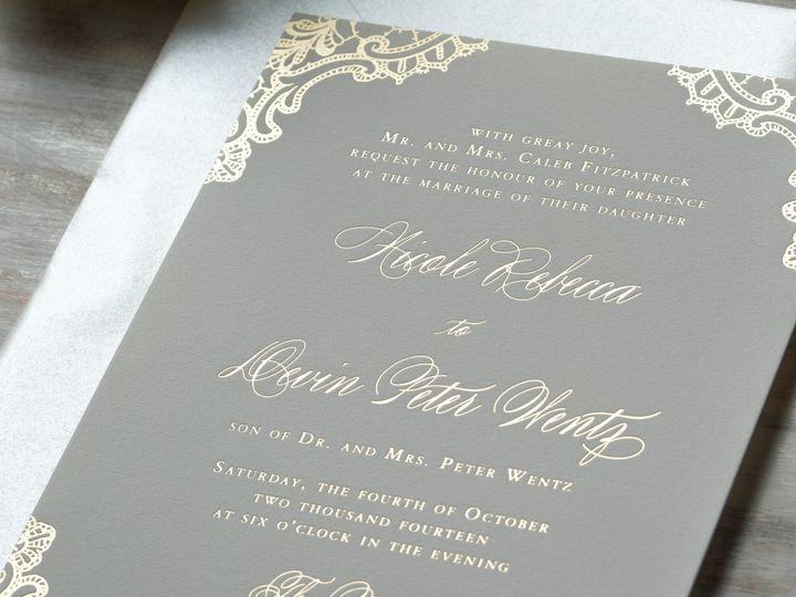 Tmx 1415899427260 Nicole1 New Hyde Park wedding invitation