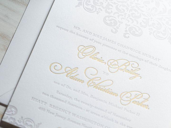 Tmx 1415899492092 Olivia1 New Hyde Park wedding invitation