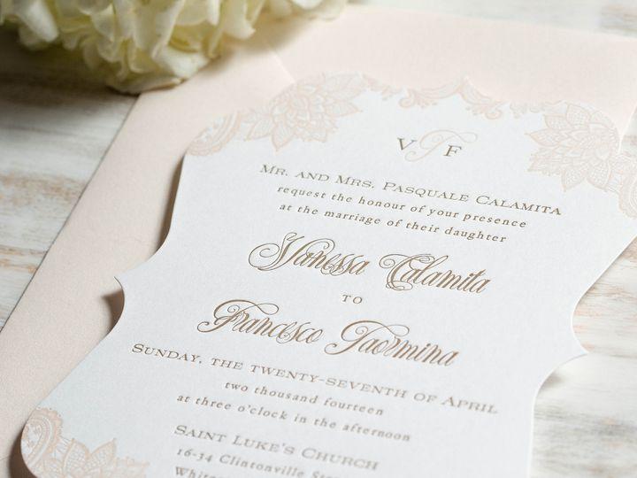 Tmx 1415899627982 Vanessa1 New Hyde Park wedding invitation