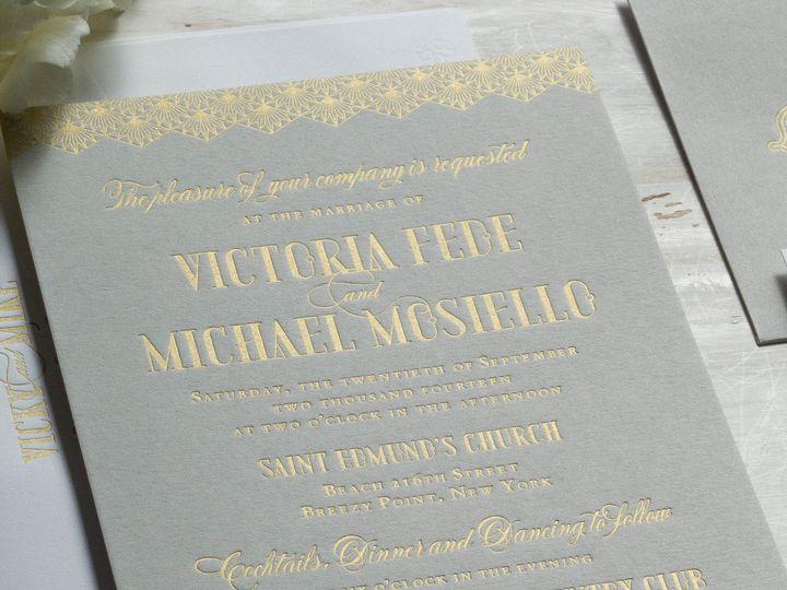 Tmx 1415899647612 Victoria1 New Hyde Park wedding invitation