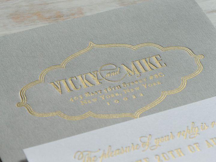 Tmx 1415899670330 Victoria3 New Hyde Park wedding invitation