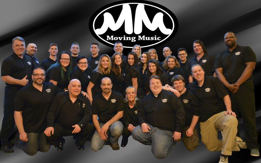 Moving Music staff