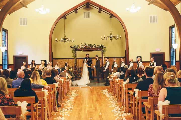 Camp Colton chapel wedding
