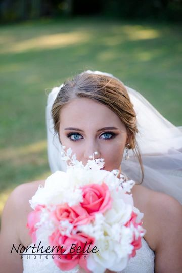 The beautiful bride (Northern Belle Photography)