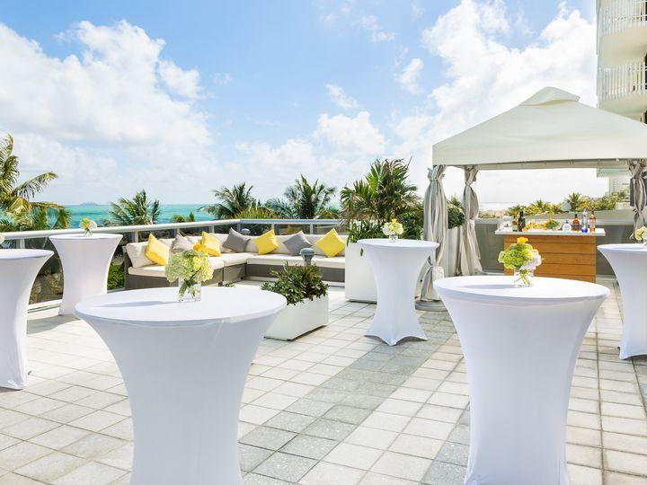 Tmx Hilton Cabana Upper Pool Reception 51 989584 V1 Miami Beach, FL wedding venue
