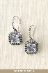 """Deco Drop Earrings """"One of Brides Favorites""""..."""