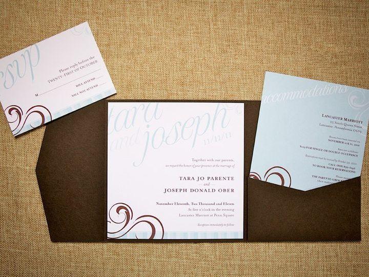 Tmx 1361470405743 535622436117363114639825810287n Mount Joy wedding invitation